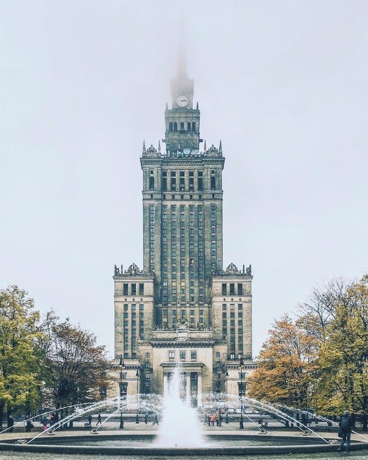 Pałac Kultury w Warszawie